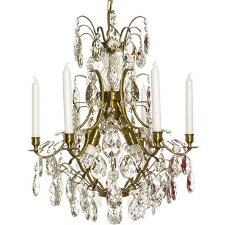 Baroque Six-Light Chandelier