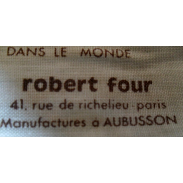 Alain Cornic for Aubusson Mid-Century Tapestry - Image 6 of 7