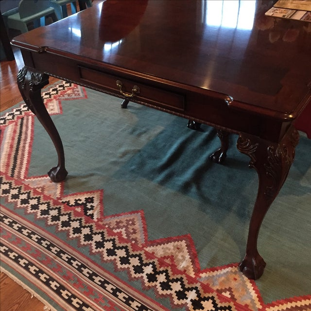 Henredon Dining Table With 2 Leaves - Image 9 of 9
