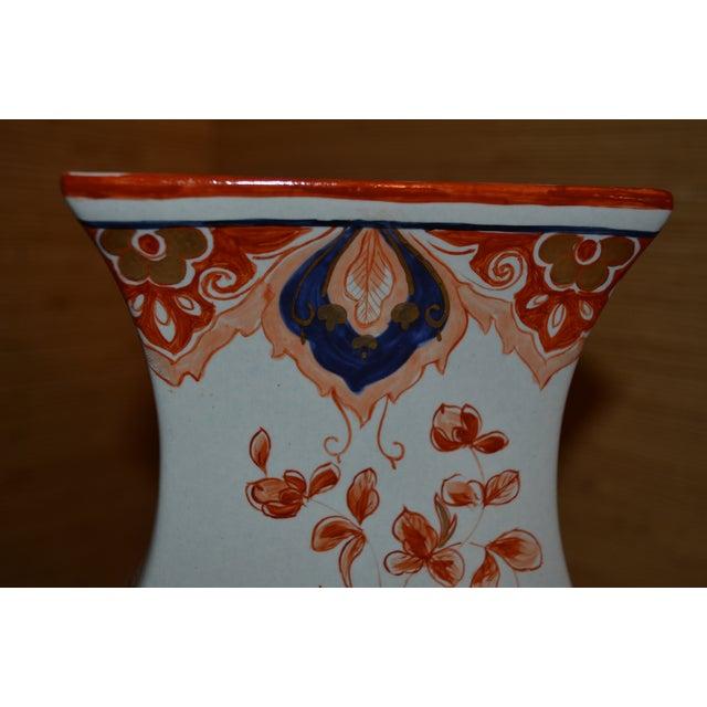 """Italian Meiselman Covered Imari Vase, 18"""" - Image 8 of 9"""