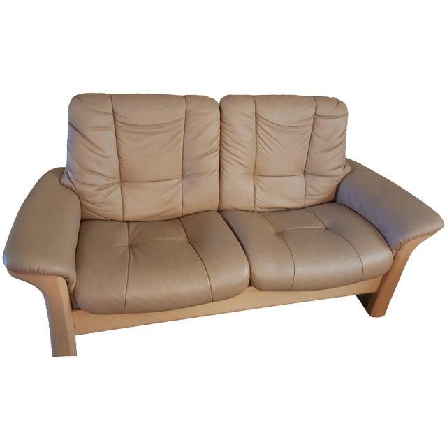 Ekornes Stressless Buckingham Sofa Loveseat Chairish