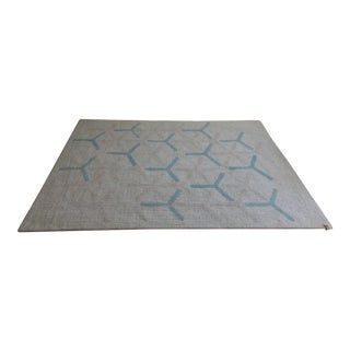 Peace Industry Matrix Rug - 6′ × 8′