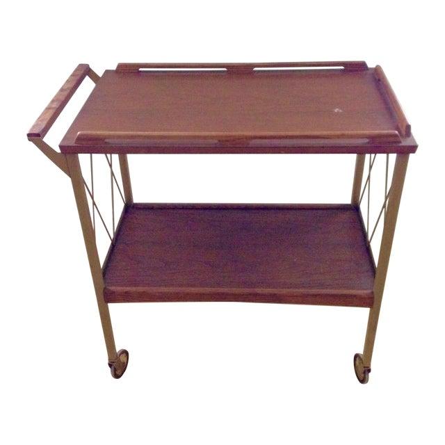 Image of Lu Van Inc. Midcentury Bar Cart