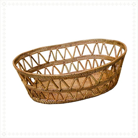 Ate Basket With Open Design - Image 2 of 2