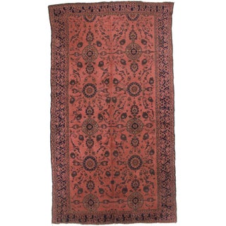 "RugsinDallas Antique Hand Knotted Wool Turkish Rug - 6' 8"" X 12' 2"""