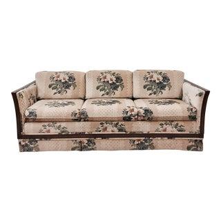Vintage Cane Panel Sofa