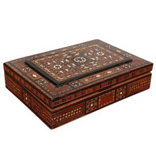 Antique Inlaid Syrian Box