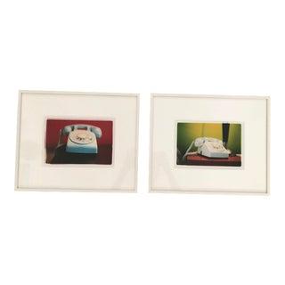 2002 Richard Heeps Telephone Prints - a Pair