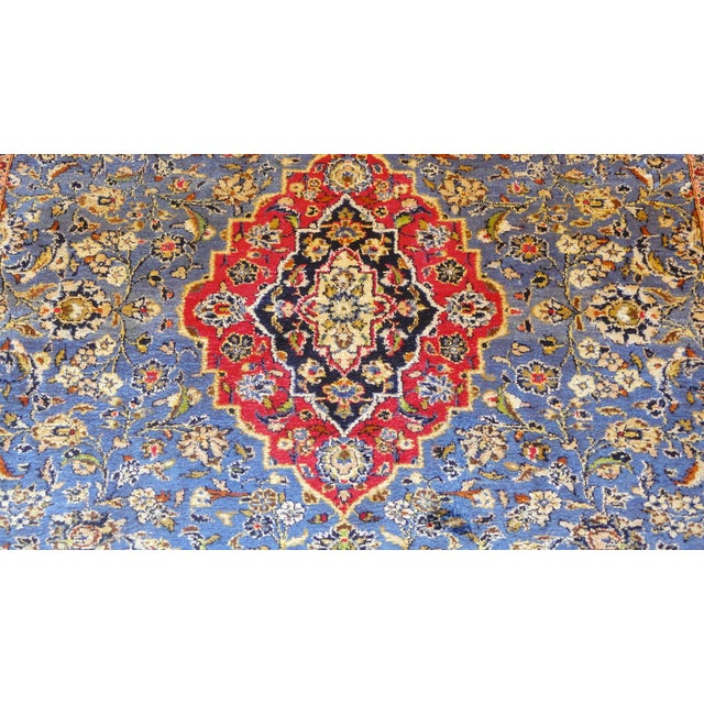 "Persian Silk Kashan Rug - 5' x 7'7"" - Image 2 of 7"