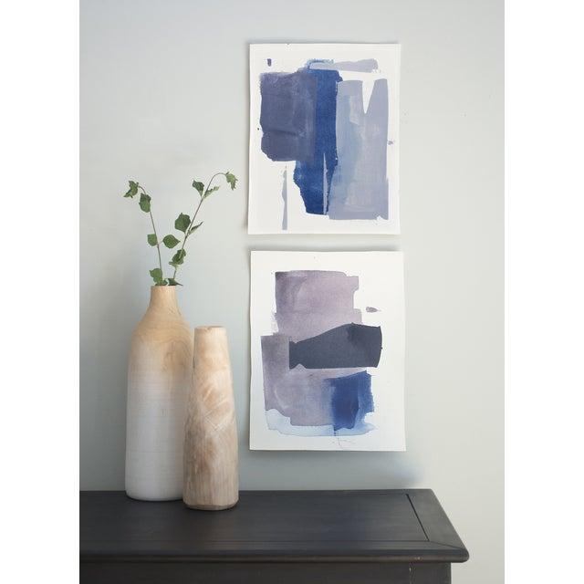 """Pressed No. 1"" Original Painting - Image 2 of 2"