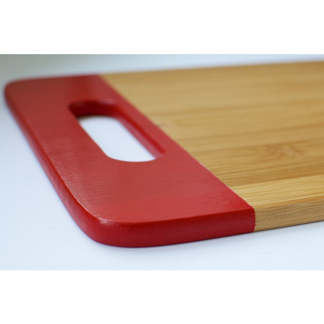 Red Bamboo Cutting Board - Image 3 of 3