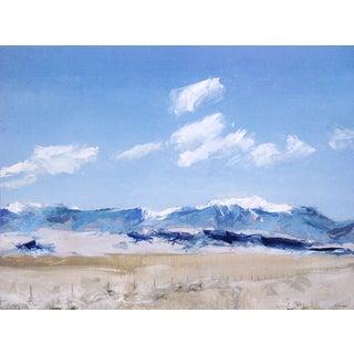 """Sand Dunes, San Luis Valley, Colorado"" Painting"