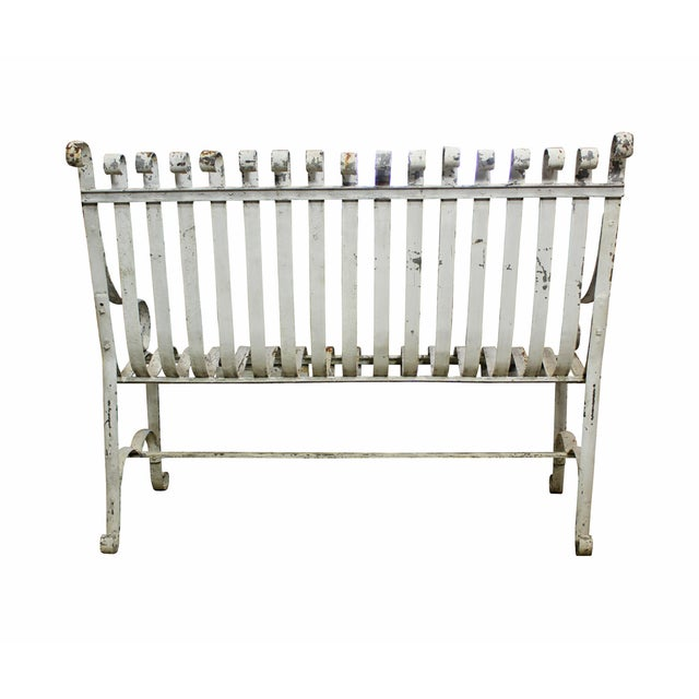 Image of Cast Iron Garden Bench