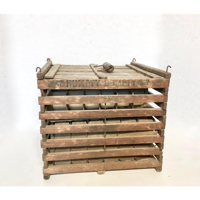 Antique Humpty Dumpty Egg Crate - Image 2 of 6