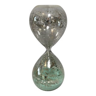 Mercury Hourglass with Mint Sand