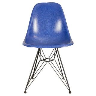 Vintage Blue Eames Herman Miller Chairs