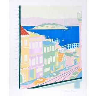 Marion McClanahan - San Francisco Lithograph