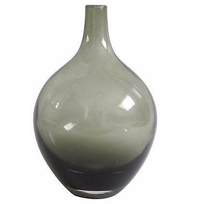 Image of Smoky Blown Glass Vase