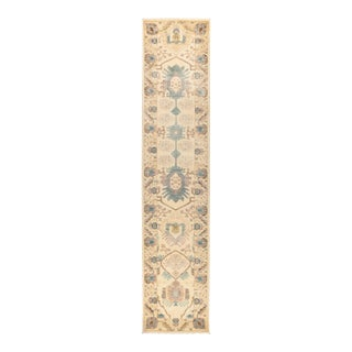 """Eclectic Hand Knotted Runner Rug - 2' 7"""" X 12' 2"""""""