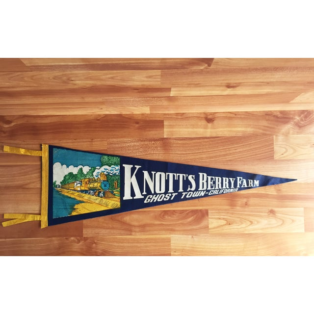 Image of Knott's Berry Farm Vintage Pennant