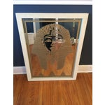 Image of Gold Pharaoh Etched Mirror