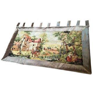 Vintage Needle Point Wall Tapestry