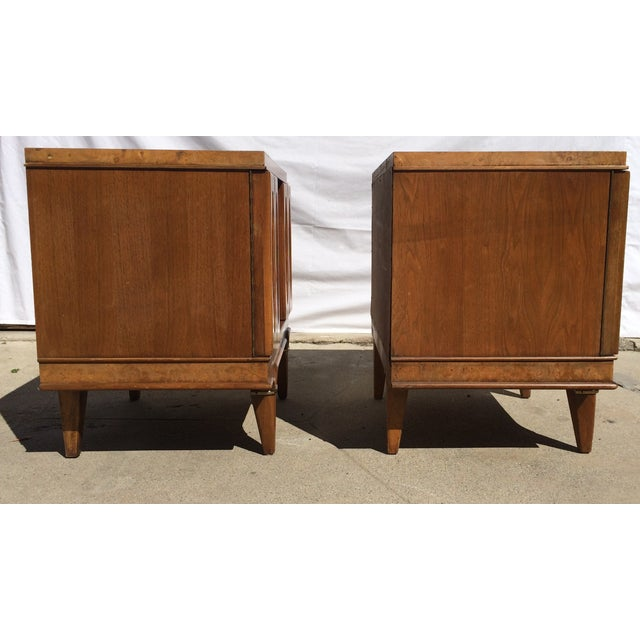 American Martinsville Mid-Century Side Tables Pair - Image 8 of 11