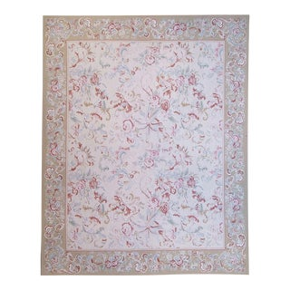 """Pasargad Aubusson Hand-Woven Wool Rug- 7'11"""" X 10' 0"""""""