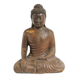 Cast Stone Sitting Buddha