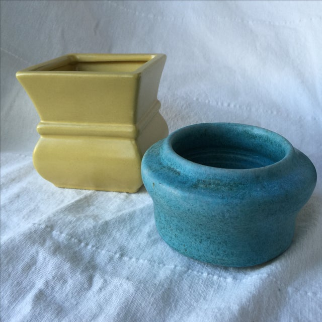 Pottery Planters - Set of 3 - Image 4 of 11