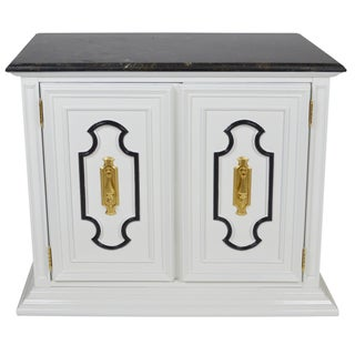 Dorothy Draper-Style Bar Cabinet