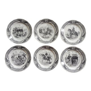 French Dessert Plates - Set of 6