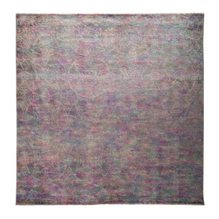 "Vibrance, Hand Knotted Area Rug - 8'10"" X 9'0"""
