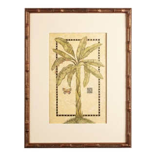 Artist - Michelle Woolley Sauter 'Tropical Banana' in Golden Bamboo