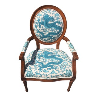 Scalamandre Chi'en Drago Avery Chair