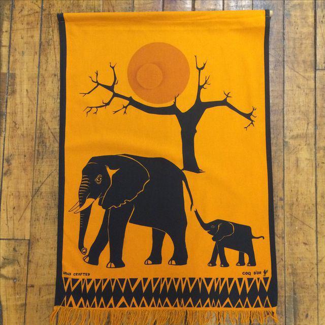 Silkscreen Wall Hanging - Vintage - Image 2 of 7