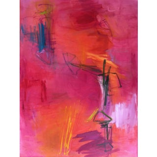 """""""Love Note"""" Abstract Painting by Trixie Pitts"""