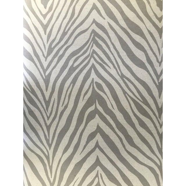 Repurposed Zebra Print Upholstered Wood Bench Chairish
