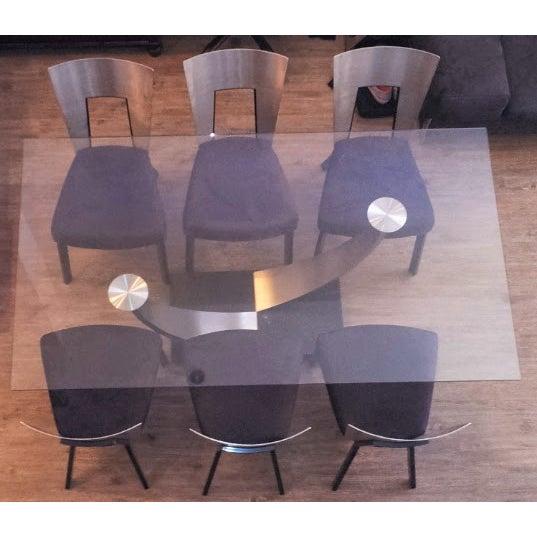 Scandinavian Designs Modern Dining Set - Image 2 of 6