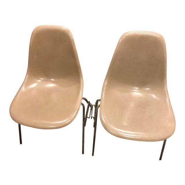 Herman Miller Plastic Chair - A Pair - Image 1 of 3
