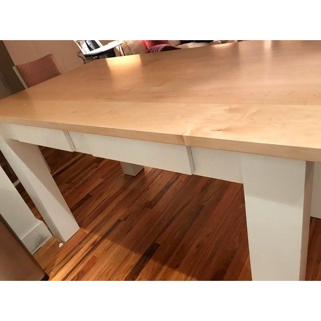 Custom Maple Island Table - Image 6 of 7