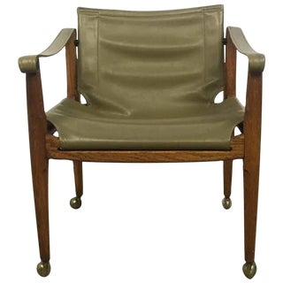 Brown Saltman Safari Sling Chair