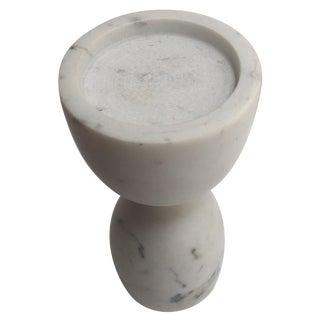 Marble Italian Carrara Pedestal