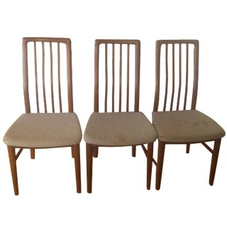 S A Mobler Dining Chairs - Set of 3