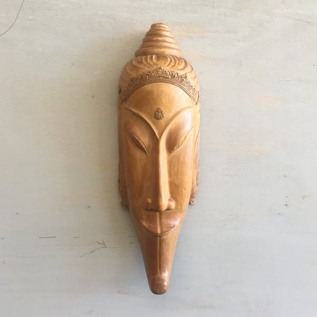 Image of Southeast Asian Hand Carved Tribal Mask