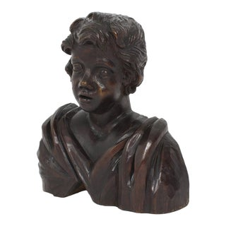 19th Century Wall Mounted or Standing Cherub Sculpture