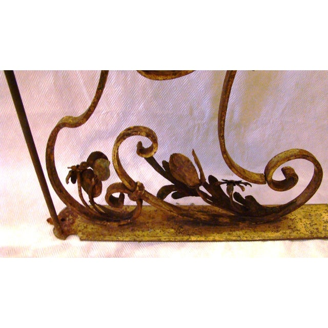 19th-C. Upholstery Door Brackets - A Pair - Image 5 of 10