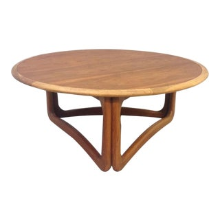 Lane Mid-Century Pearsall Style Coffee Table