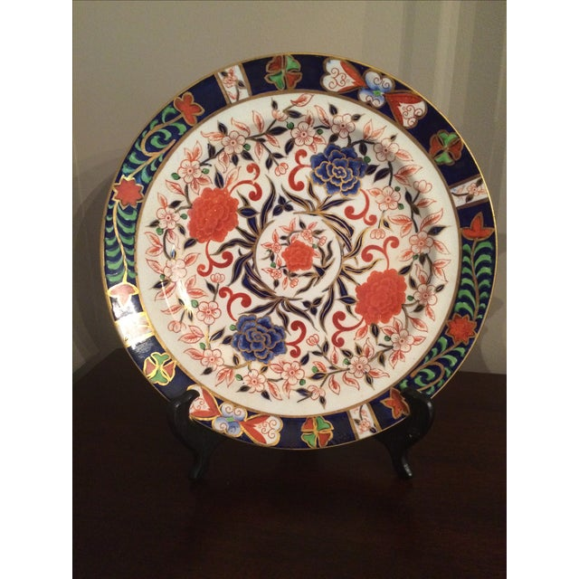 Image of Royal Crown Derby Antique Plates - A Pair
