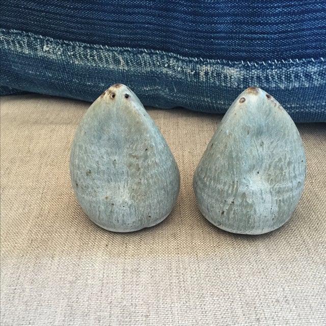 Image of Vintage Studio Pottery Salt & Pepper Shakers